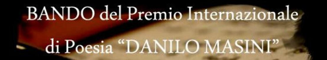 Premio Internazionale di Poesia Danilo Masini
